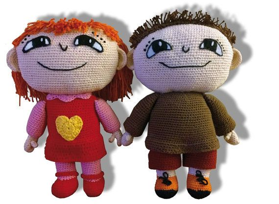 Crochet Pattern Milla Alfie Atkins friend by SculptingWithYarn