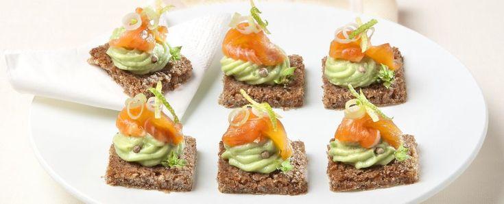 Tartine alla mousse di avocado | Sale&Pepe
