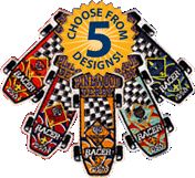 Pinewood Derby Patches w/Rank