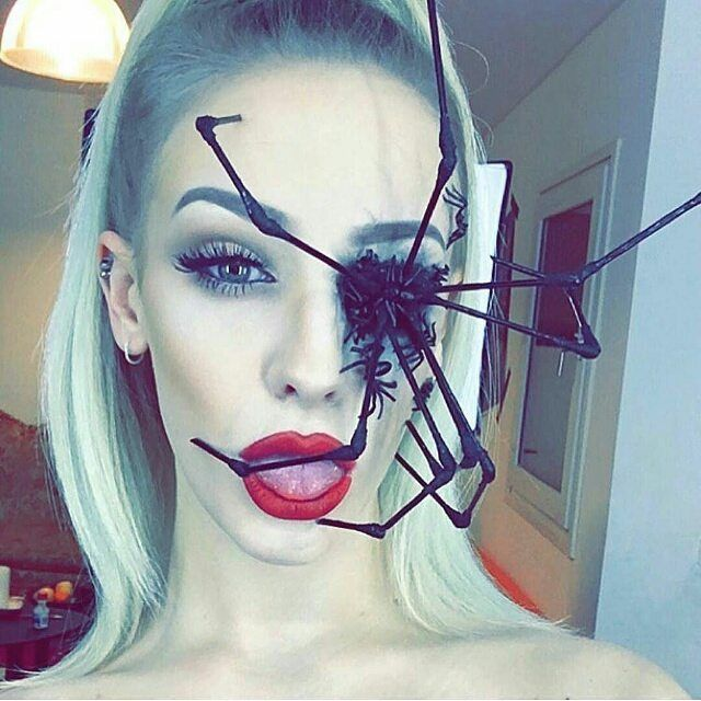 there are so many of halloween makeup ideas you can choose for upcoming halloween party we share different halloween makeup ideas outstanding pic - Fun Makeup Ideas For Halloween