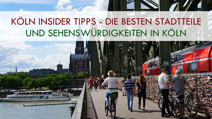 In diesem Beitrag verraten wir euch jede Menge Insider Tipps für Köln. Tolle Sehenswürdigkeiten, leckere Restaurants, gute Hotels und vieles mehr!