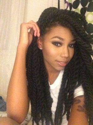 beautiful marley braids hairstyle