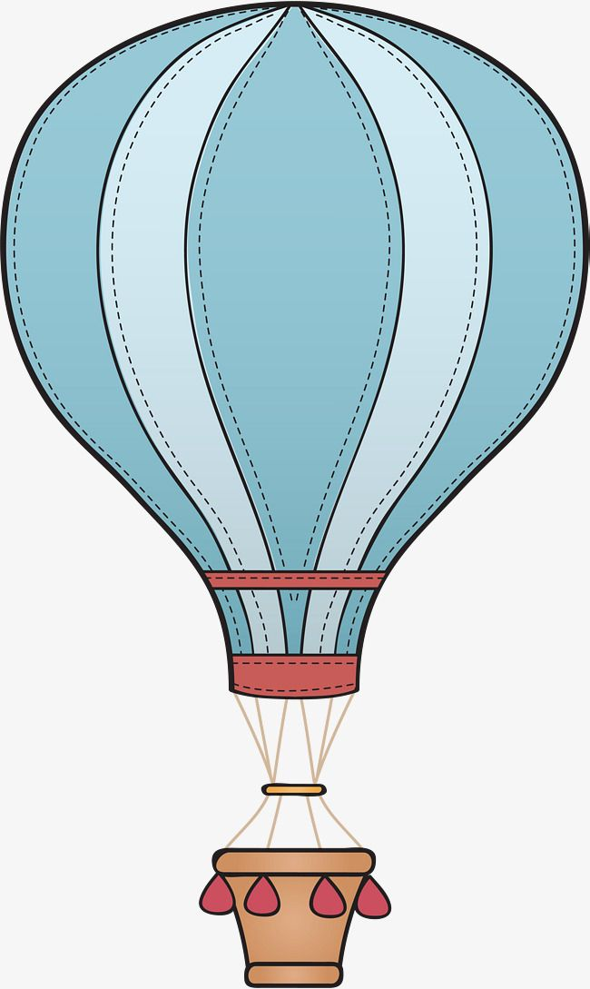 Striped Hot Air Balloon Vector Hot Air Balloon Clipart Stripe Hand Painted Png Transparent Clipart Image And Psd File For Free Download Hot Air Balloon Clipart Hot Air Balloon Balloon Clipart
