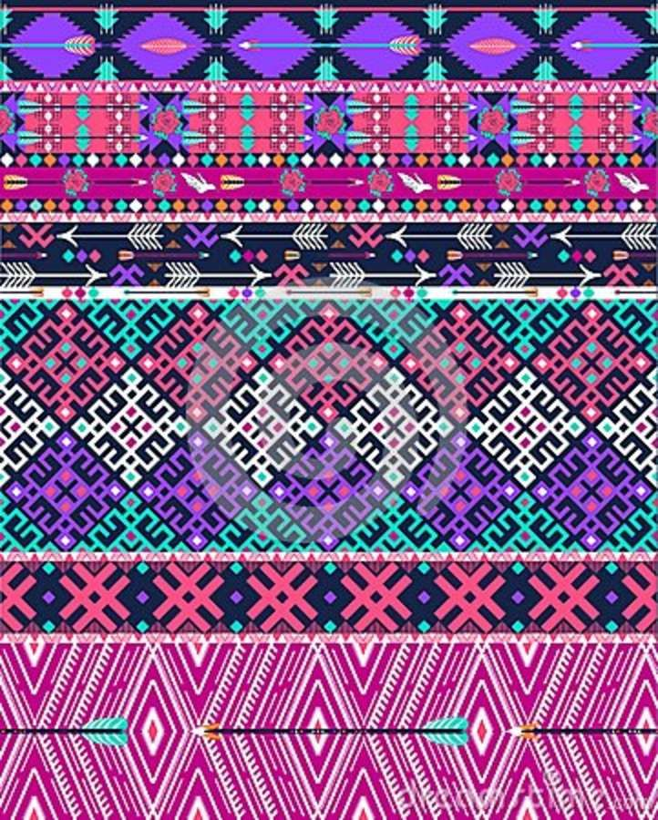 17 Best Ideas About Tribal Pattern Wallpaper On Pinterest