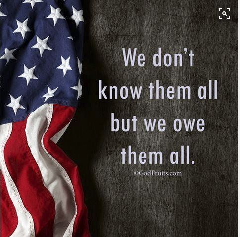 Happy Veteran's Day to all our brave men and women!! Thank you for your service.