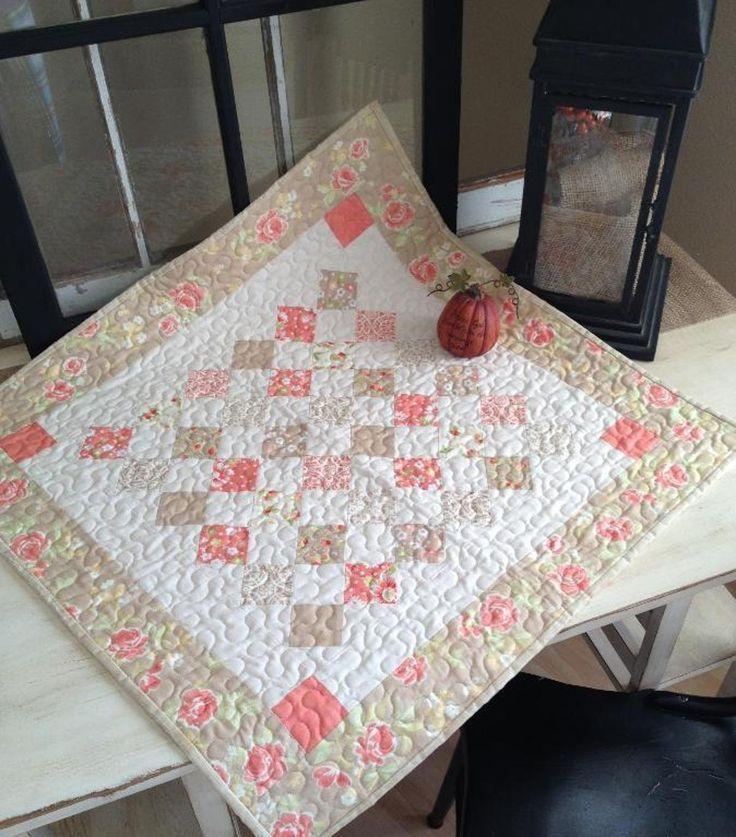 Mini Charm Square Table Topper | Craftsy