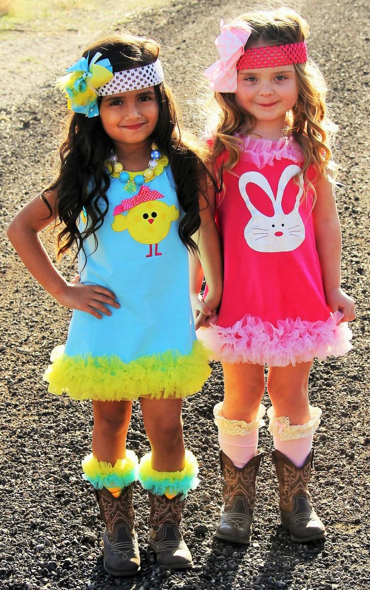 Pink Easter Bunny Dress