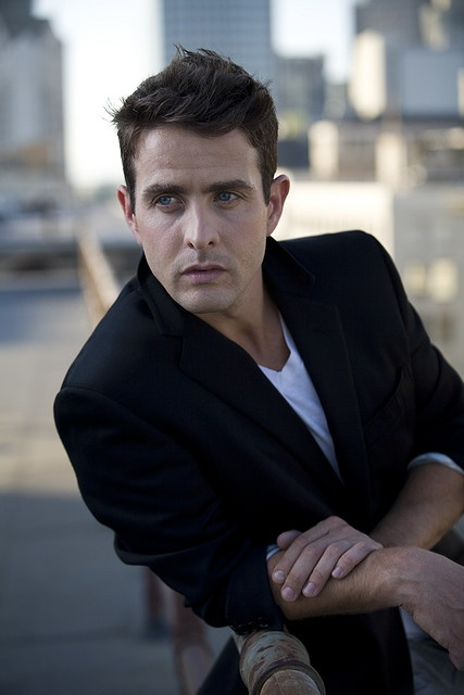 Joey McIntyre. Ok, I love me some Joey Joe! I always figured since he was the youngest in the group that I had the best shot with him :)