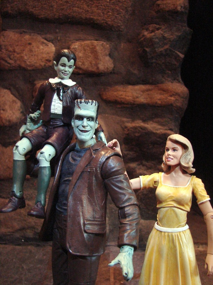 Munsters Action Figures