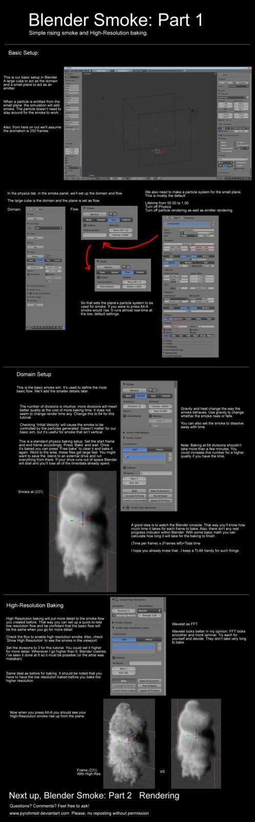 Blender Smoke Tutorial 1 by pyrohmstr