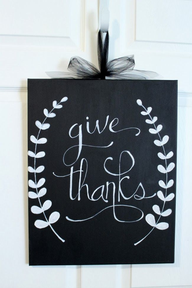 Give Thanks- a Thanksgiving craft