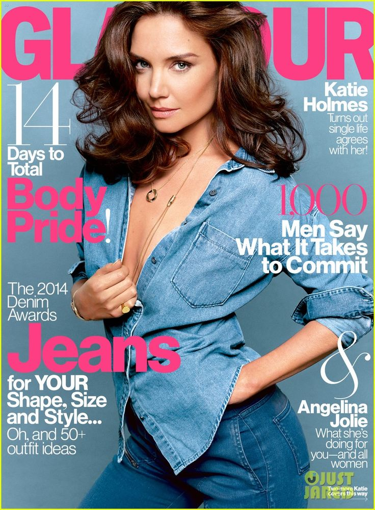 Katie Holmes Goes Totally Topless, Discusses Her Dating Life with 'Glamour'