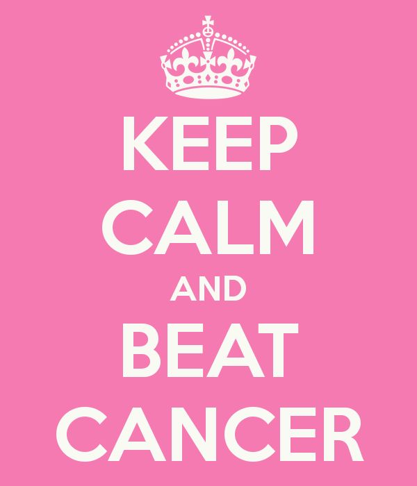 Beat Cancer Quotes: KEEP CALM AND BEAT CANCER