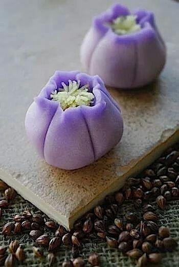 Sweet Purple Passion #Japanese #Wagashi