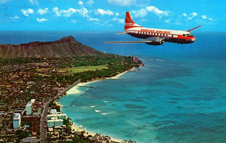 Hawiian Airlines Convair 340