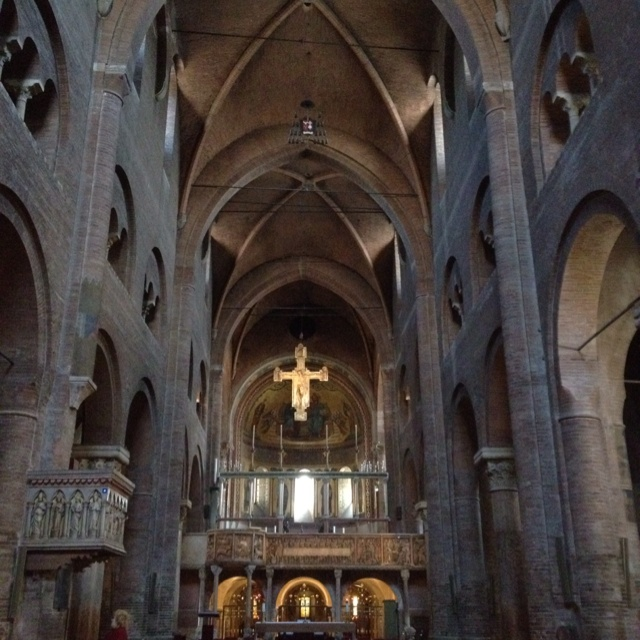 My favorite thing about Europe is the history and the cathedrals! The cathedral in modena Italy