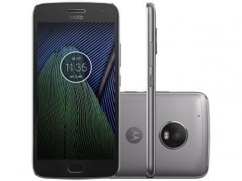 """Smartphone Motorola Moto G5 Plus 32GB Platinum - Dual Chip Câm. 12MP + Selfie 5MP Tela 5.2"""" Full HD R$ 1.299,90   em até 10x de R$ 129,99 sem juros no cartão de crédito"""