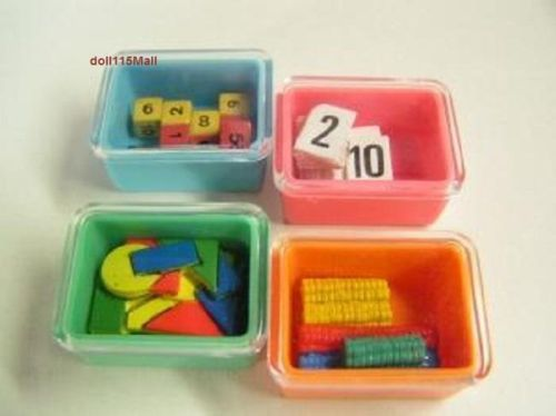 bandai-dollhouse-miniature-mathematic-number-card-dice-color-board-Marbles-box