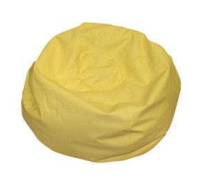 "CF610-047 26"""" Yellow Bean Bag"