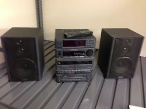 Sony MHC 1500 Mini HiFi Shelf System 100 Original Complete Retro Mixtape Japan