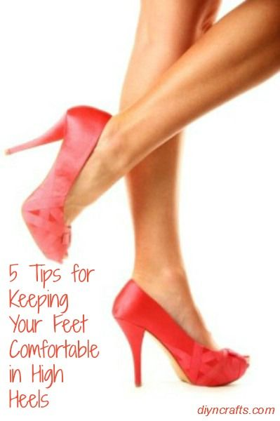 Wow these tricks really work! If you normally wear high heels then you know just how tired and achy your feet and back can be at the end of the day.