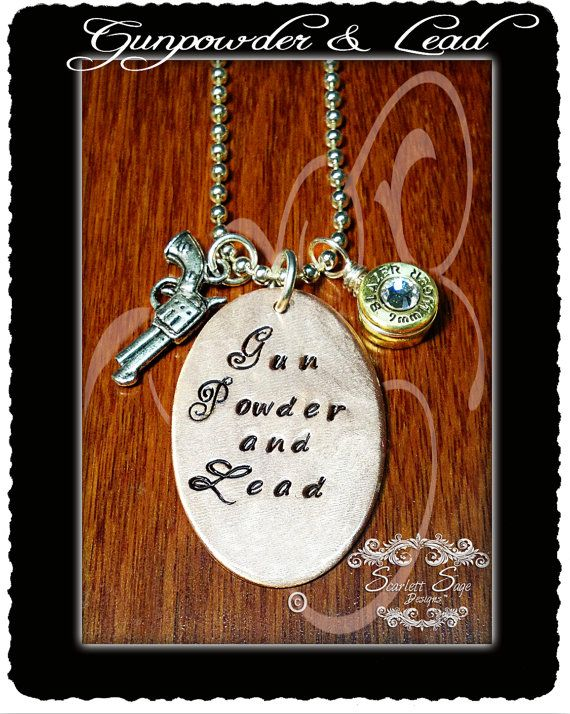 Hey, I found this really awesome Etsy listing at https://www.etsy.com/listing/121689353/gunpowder-and-lead-bullet-casing-jewelry