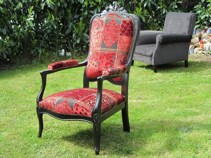 1000 id es sur le th me fauteuil voltaire sur pinterest transat fauteuil bridge et fauteuil. Black Bedroom Furniture Sets. Home Design Ideas