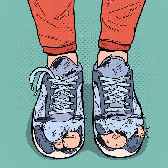 تفسير رؤية الحذاء في المنام للرجل والمتزوجة لابن سيرين والنابلسي موقع مصري Pop Art Old Shoes Art