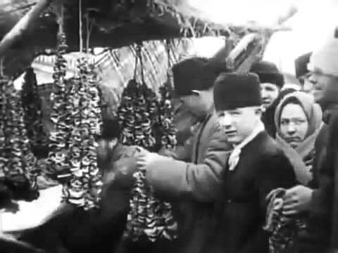 Старая дореволюционная Москва на уникальном видео 1908 года - YouTube