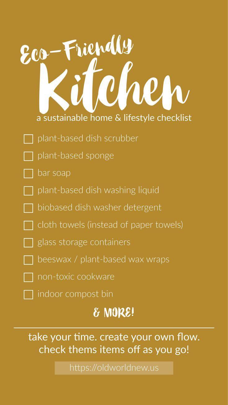 A Checklist For Checklists eco-friendly home checklists | eco friendly cleaning