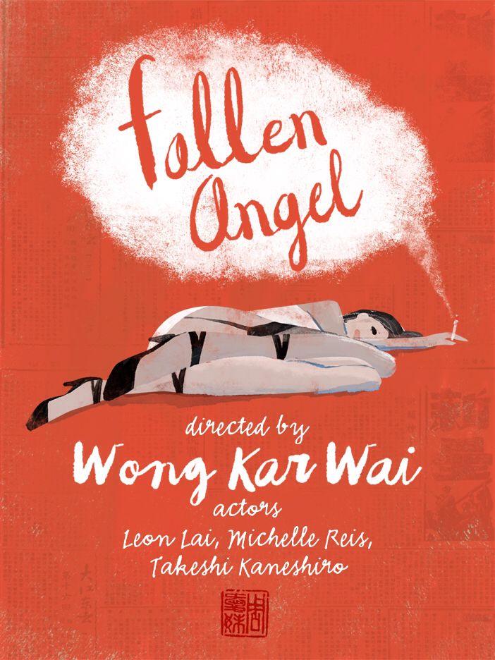 Fallen Angel movie poster Wong Kar Wai #wongkarwai behance.net/ignatz