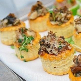 Herbed Mushroom Elegant Appetizers