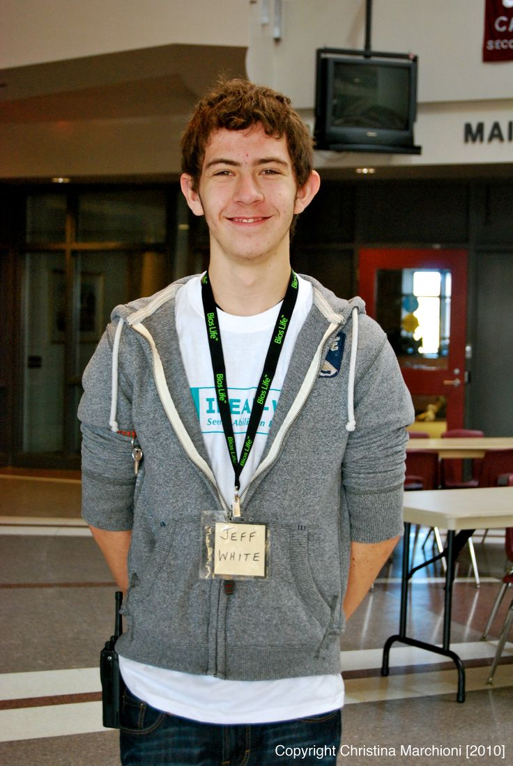 Volunteer Josh, helps out with videography and photography.