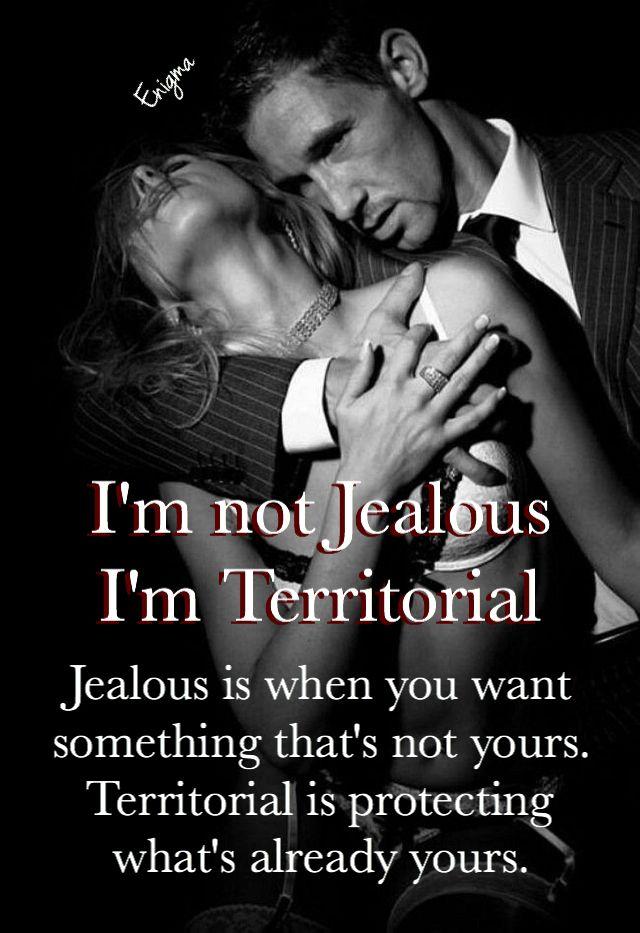 I'm not jealous, I'm Territorial ♠️