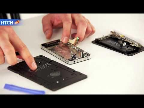 Notice de changement écran iPhone 4 http://www.htcn.fr/pieces-detachees-iphone-4/13-ecran-iphone-4-noir-0609722995658.html