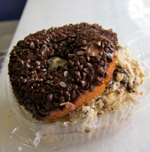 Just when you thought ice cream couldn't get any more indulgent, Holey Cream went and put it inside a donut.      Hmmmm