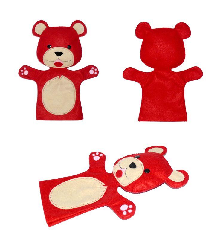 Marionetta burattino, pupazzo orsetto, cucciolotti, cuccioli, amici cucciolotti, orsetto giocattolo, orsetto