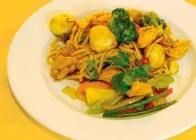 Recept voor Gesauteerde noodles op z'n Japans | Solo Open Kitchen