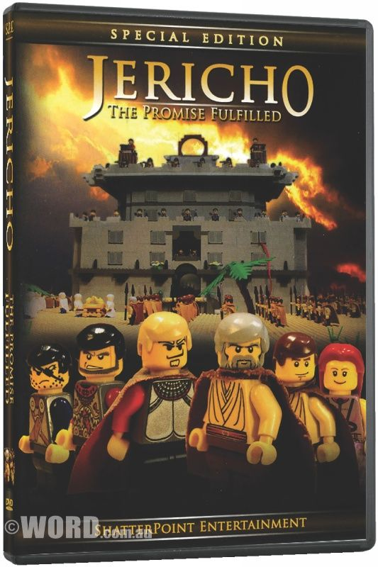 DVD Jericho: The Promise Fulfilled: Join the fun in this comical retelling of the battle between the nation of Israel and the mighty army of Jericho!