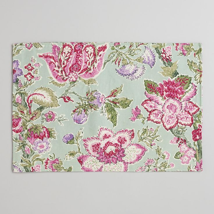 Manor Floral Placemats, Set of 4 | World Market