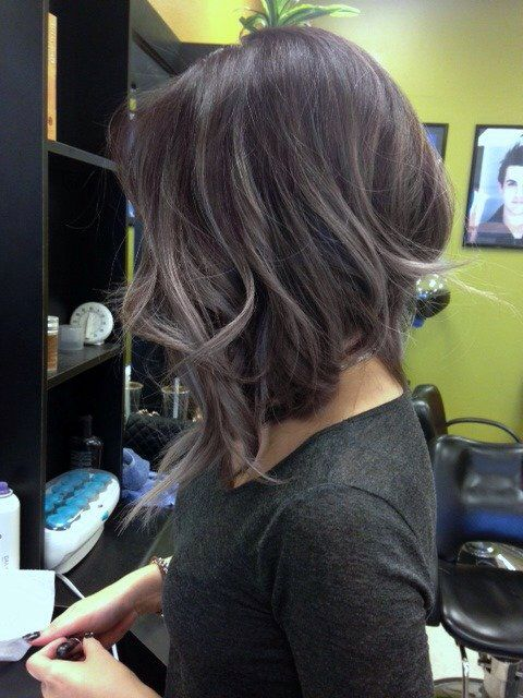 perfect cut for girls who want to keep their long hair and have a BIG change too