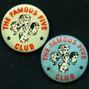 The Famous Five Club Enid Blyton from the Badge Collectors Circle ...