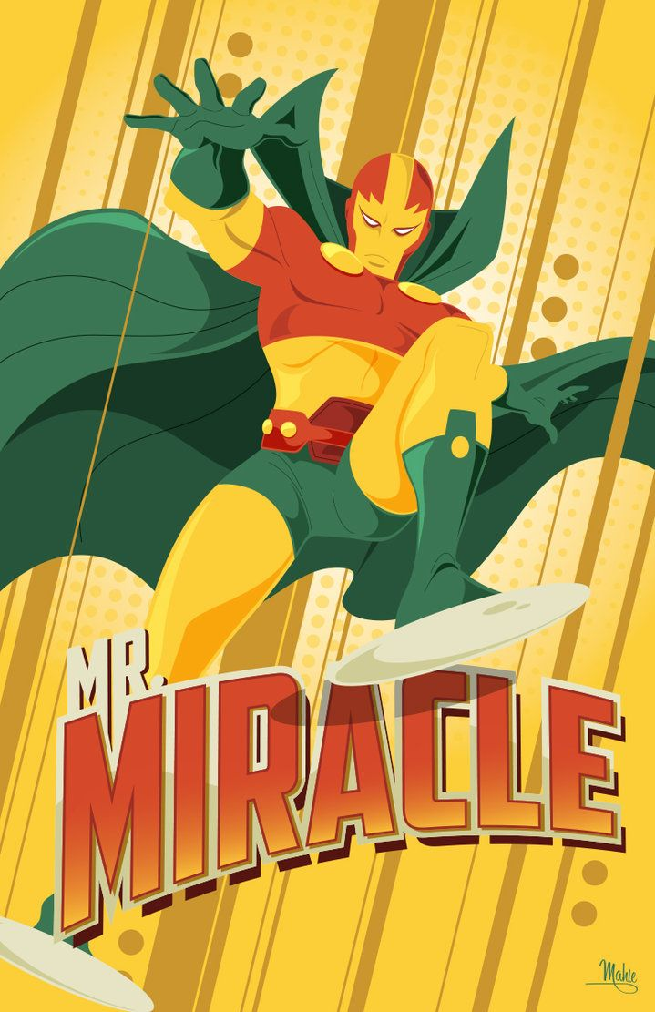 The Road of Memories PV [Mister Miracle] Ac02857dacee8715afc34df36664292c--dc-comic-comic-art