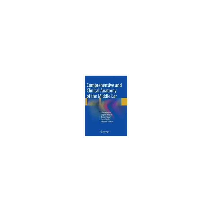 Comprehensive and Clinical Anatomy of the Middle Ear (Reprint) (Paperback) (Salah Mansour)