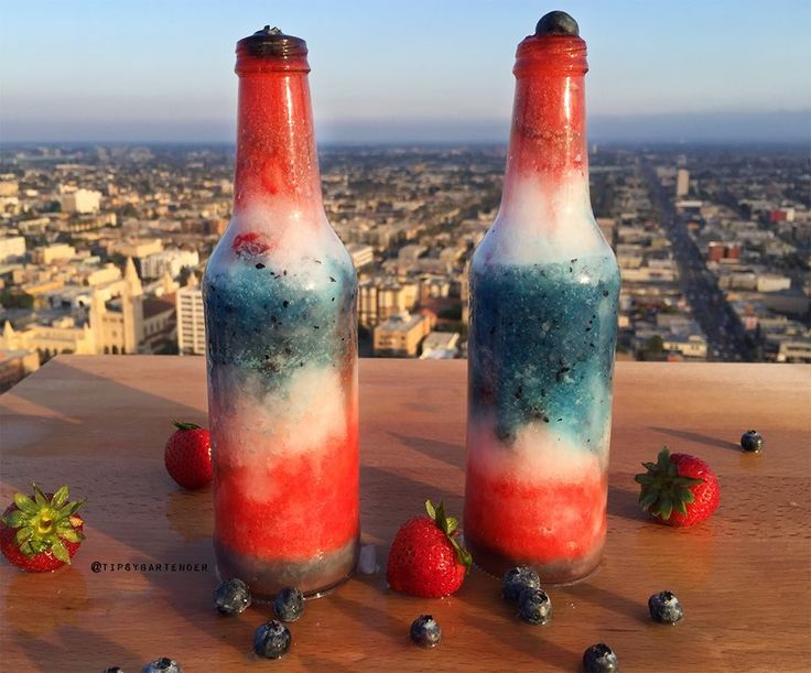 yummy 4th of july drinks