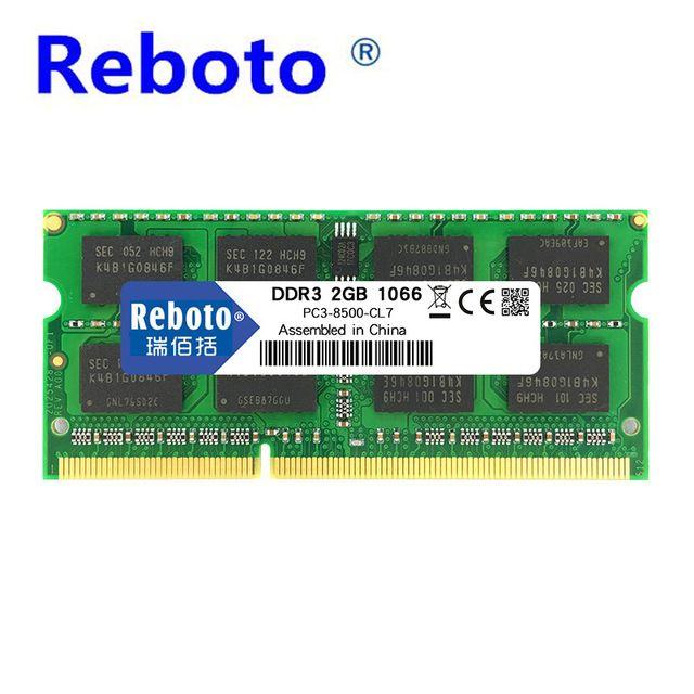 Reboto Ddr3 De Memoria Ram 1 Gb 2 Gb 4 Gb Ddr3 8500 Memoria Dram