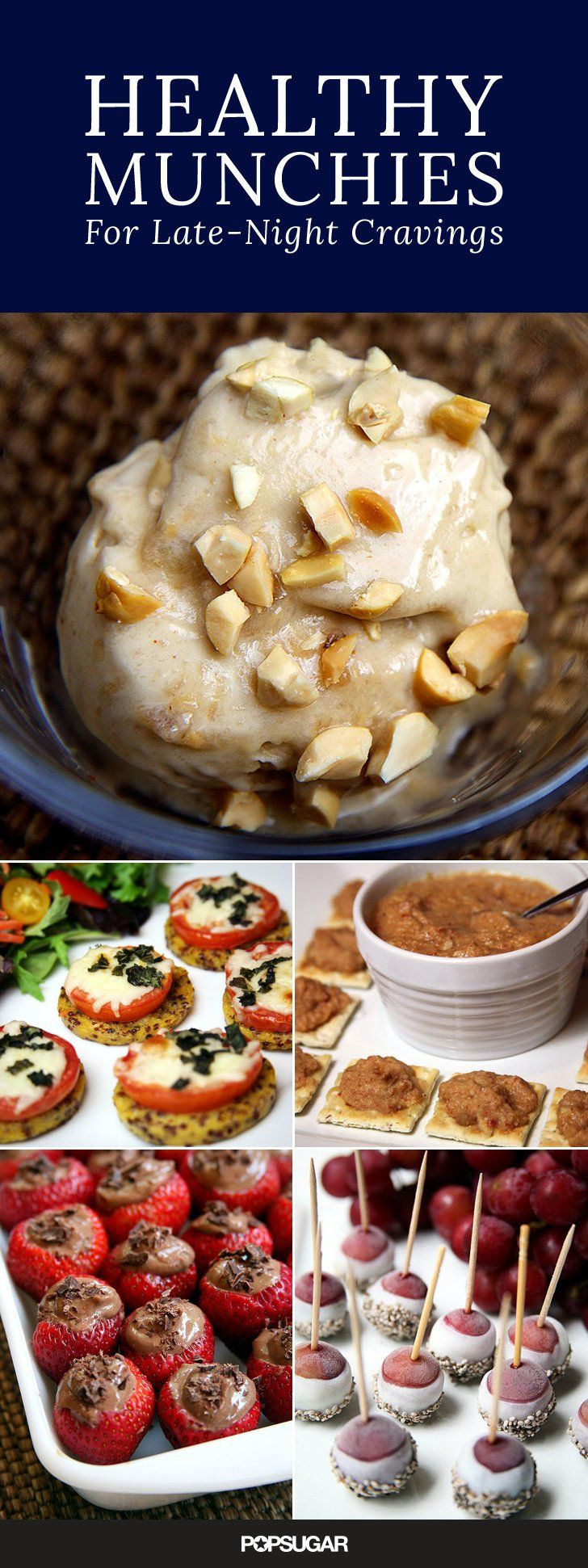 12 Healthy Snacks That Are Perfect For The Midnight Munchies