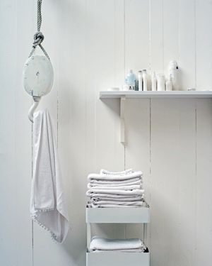 DIY Hook - to hold your towel #bathroom