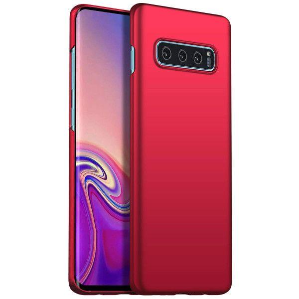 Arktispro Samsung Galaxy S10 Plus Ultraslim Hardcase Rot Galaxis Samsung Hulle Samsung