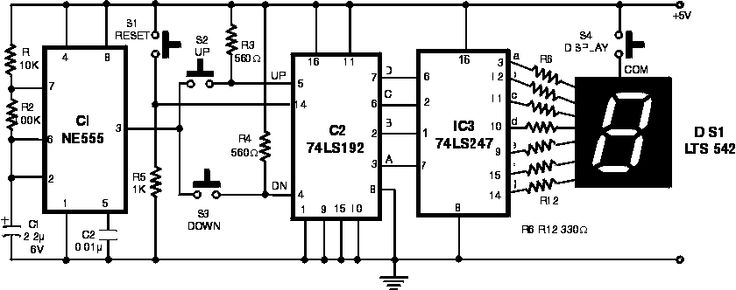 electronic scoring game electronics circuits hobby